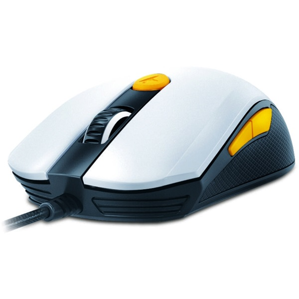 Genius Scorpion M8-610 fehér-narancs gamer egér - 2