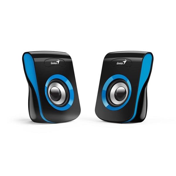 Genius SP-Q180 fekete-kék USB hangszóró - 1