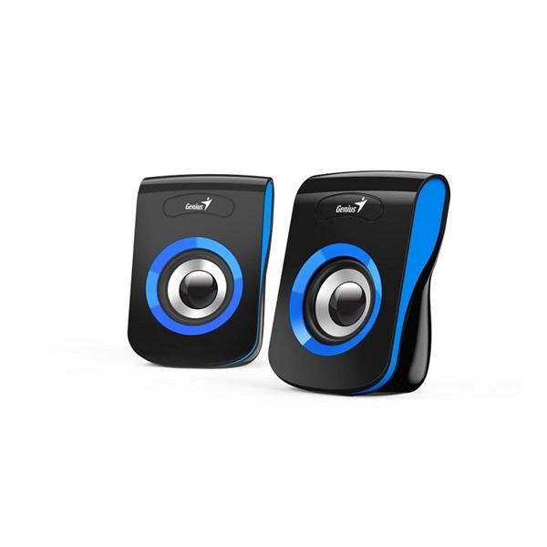 Genius SP-Q180 fekete-kék USB hangszóró - 3