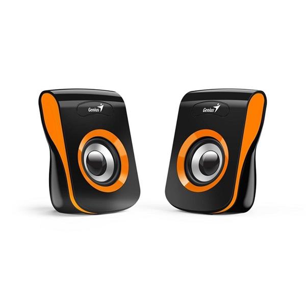Genius SP-Q180 fekete-narancs USB hangszóró - 1