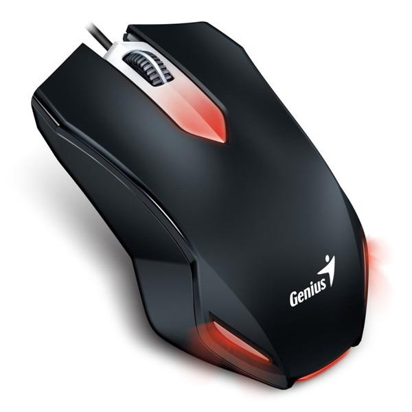 Genius X-G200 USB fekete gamer egér - 1