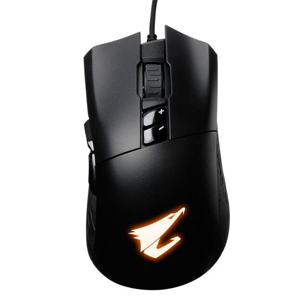 Gigabyte AORUS M3 fekete gamer egér - 1