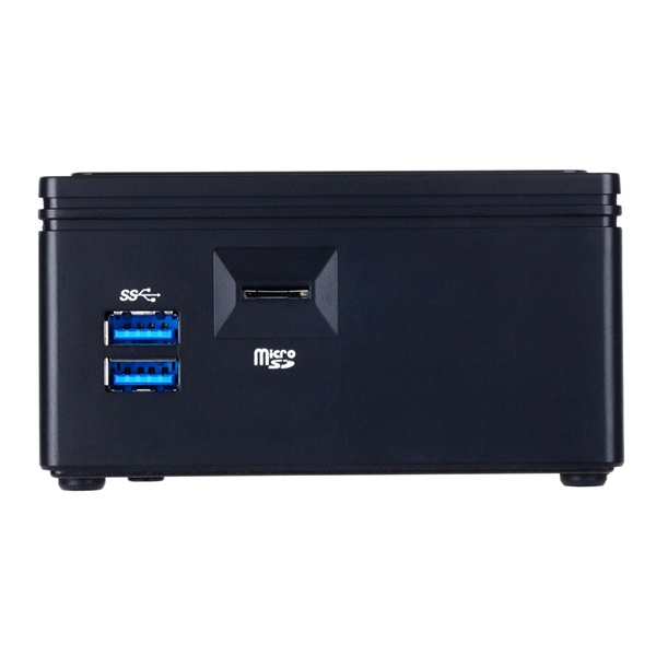 Gigabyte GB-BACE-3000 Brix Intel Fekete barebone mini asztali PC - 2