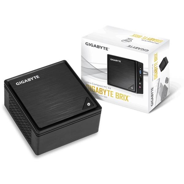 Gigabyte GB-BPCE-3350C Brix Intel Barebone mini asztali PC - 1