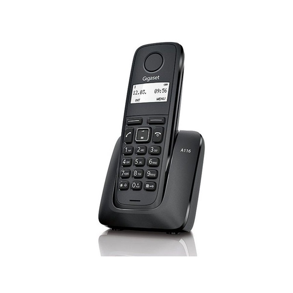 Gigaset A116 fekete dect telefon - 1