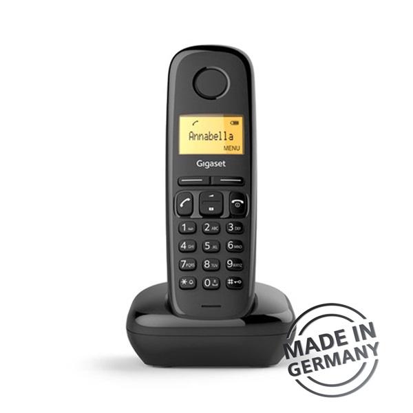 Gigaset A170 DECT hívóazonosítós fekete telefon - 1