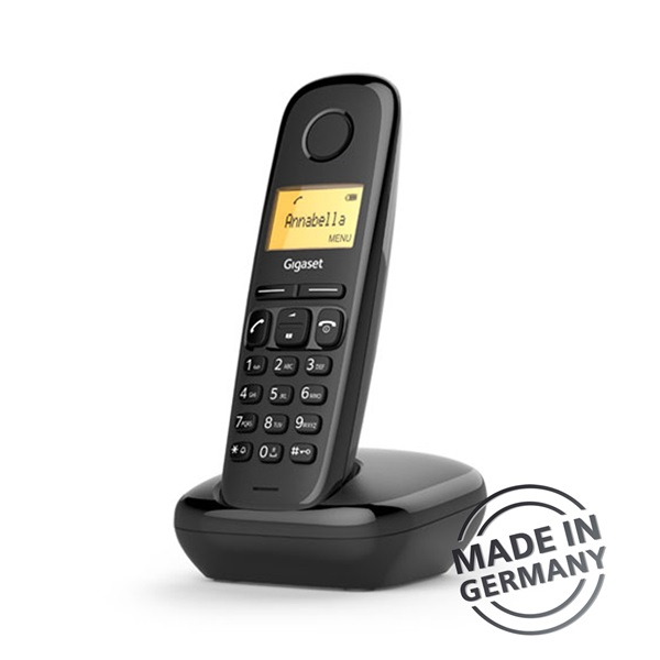 Gigaset A170 DECT hívóazonosítós fekete telefon - 2