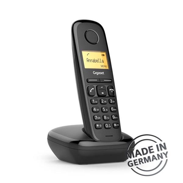 Gigaset A170 DECT hívóazonosítós fekete telefon - 3
