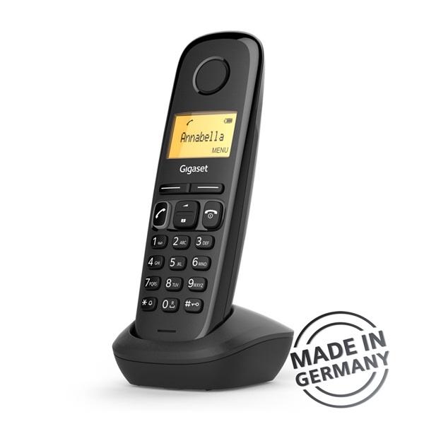 Gigaset A170 DUO DECT hívóazonosítós fekete telefon - 3