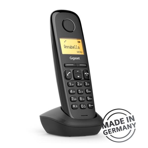 Gigaset A170 DUO DECT hívóazonosítós fekete telefon - 4