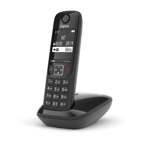 Gigaset AS690 fekete dect telefon - 2