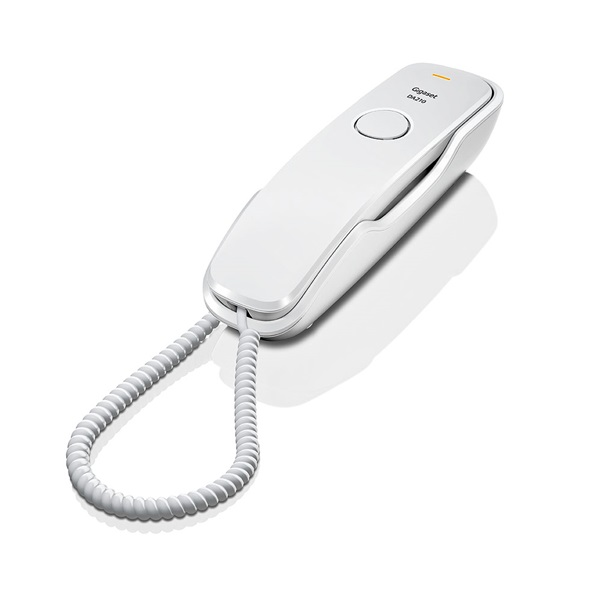 Gigaset DA210 fehér vezetékes telefon - 1