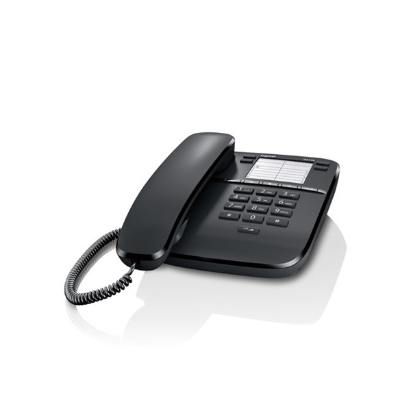 Gigaset DA310 fekete vezetékes telefon - 1