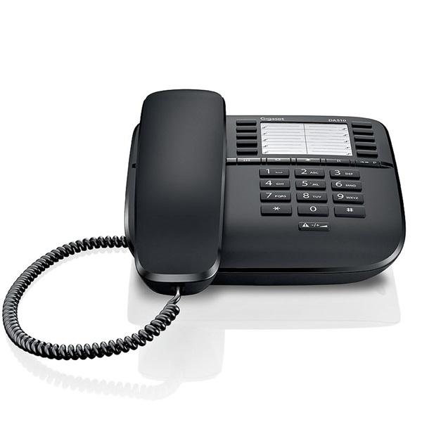 Gigaset DA510 fekete vezetékes telefon - 1