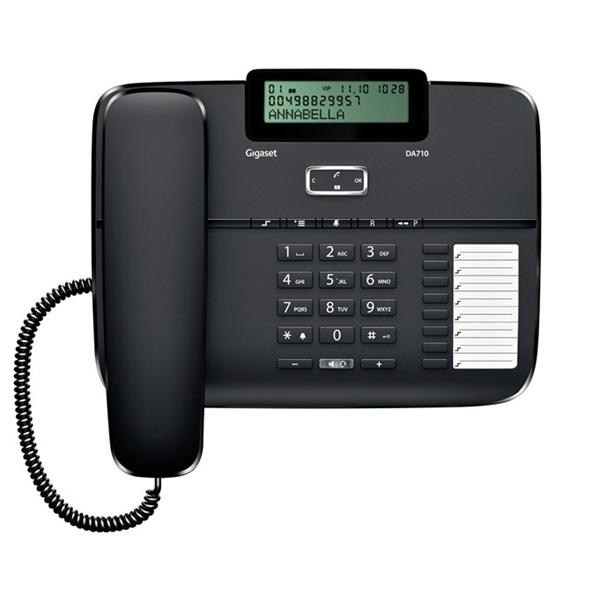 Gigaset DA710 fekete asztali telefon - 1