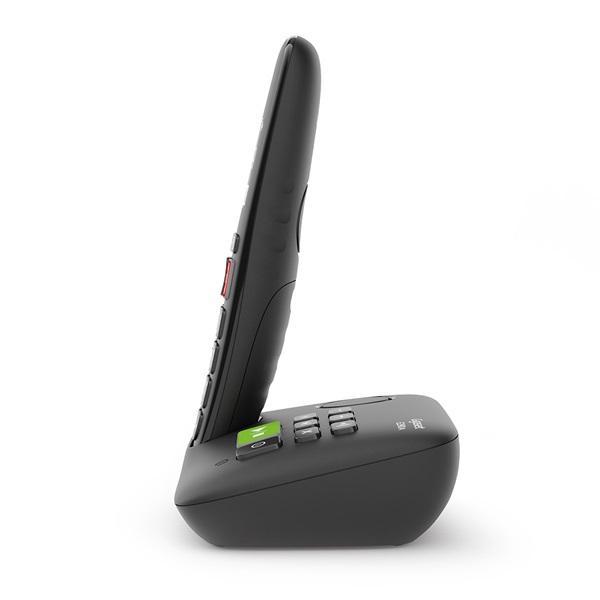 Gigaset E290A fekete üzenetrögzítős dect telefon - 3