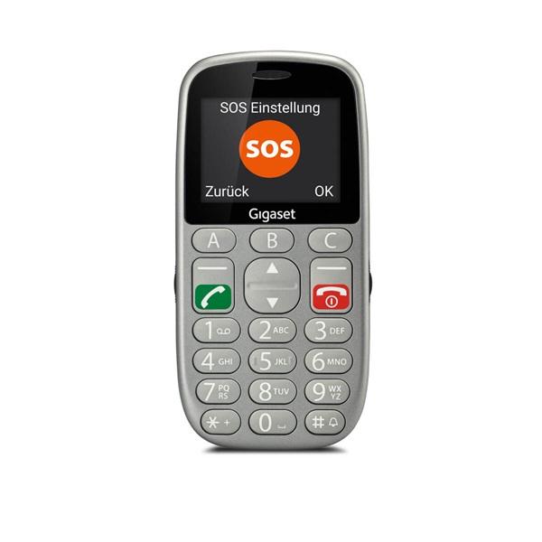 Gigaset GL390 2,2 Dual SIM ezüst mobiltelefon - 1