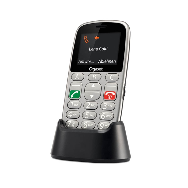 Gigaset GL390 2,2 Dual SIM ezüst mobiltelefon - 10