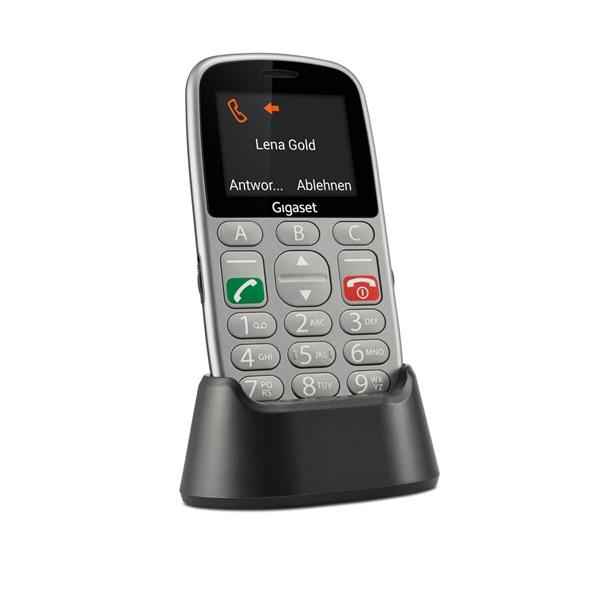 Gigaset GL390 2,2 Dual SIM ezüst mobiltelefon - 11
