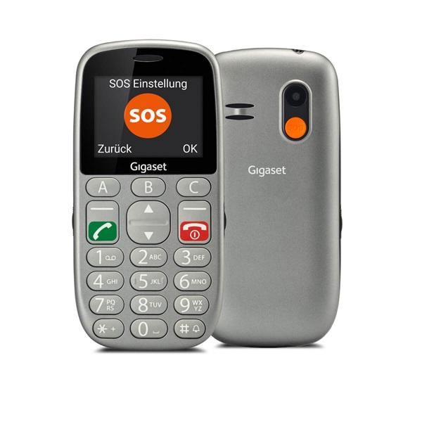 Gigaset GL390 2,2 Dual SIM ezüst mobiltelefon - 2