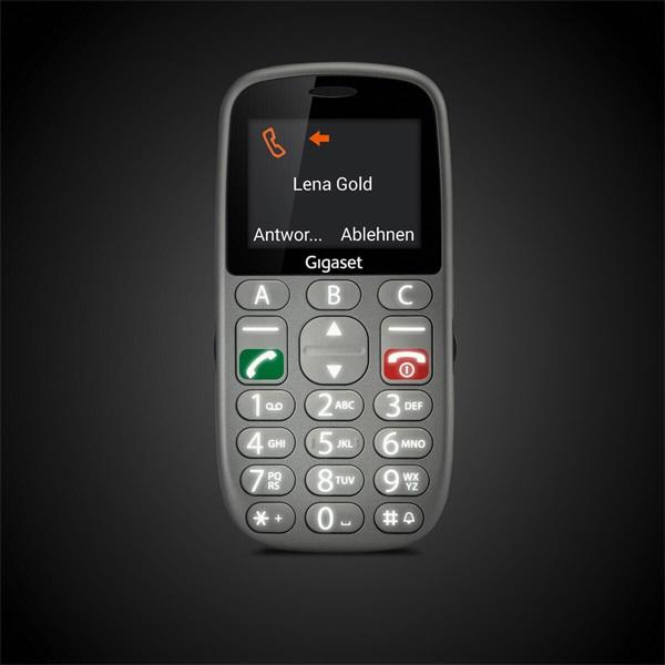 Gigaset GL390 2,2 Dual SIM ezüst mobiltelefon - 4