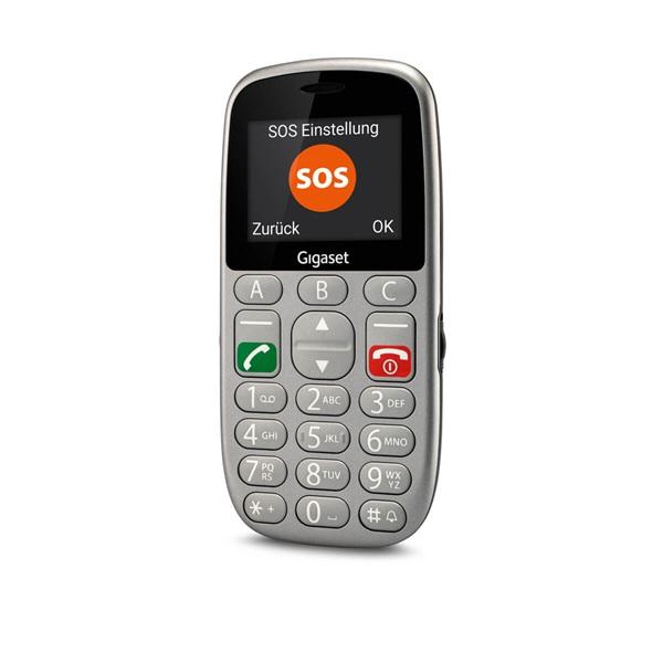 Gigaset GL390 2,2 Dual SIM ezüst mobiltelefon - 6