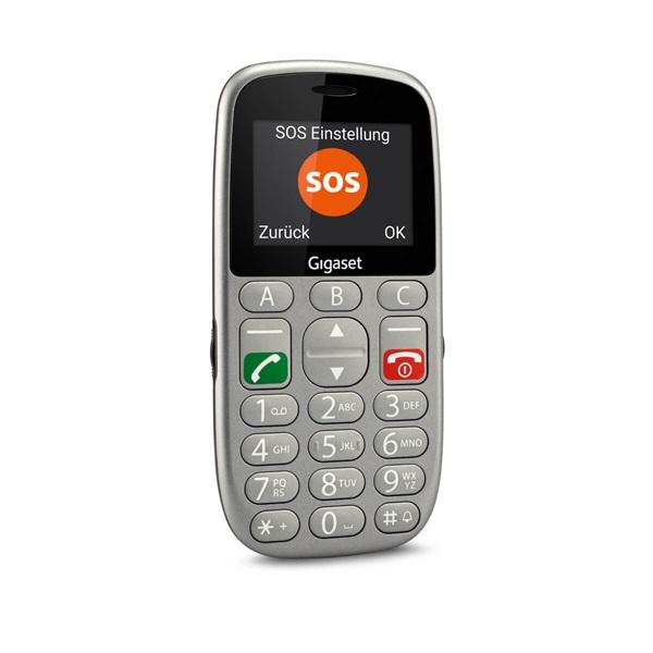 Gigaset GL390 2,2 Dual SIM ezüst mobiltelefon - 7
