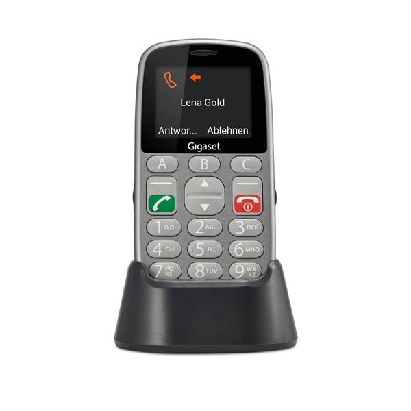 Gigaset GL390 2,2 Dual SIM ezüst mobiltelefon - 8