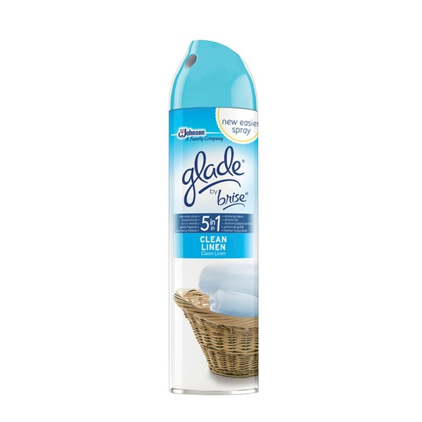 Glade 300ml Fresh Cotton légfrissítő spray - 1