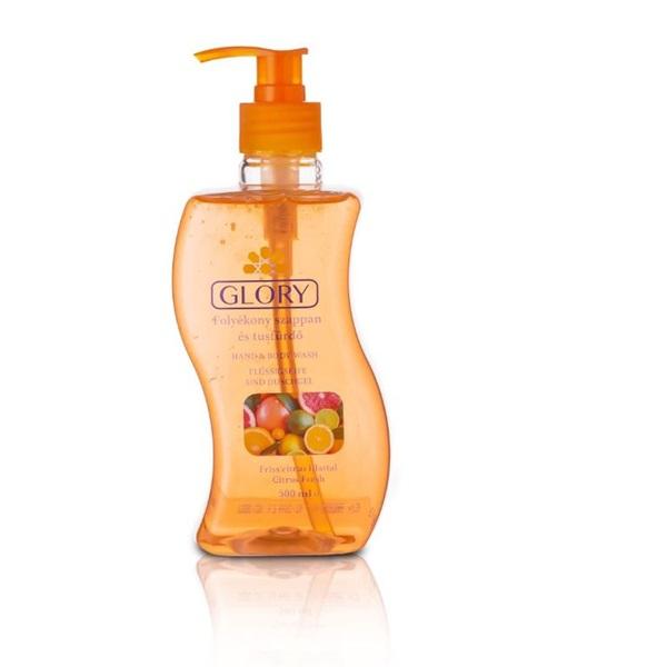 Glory/HC 500 ml citrus illat folyékony szappan és tusfürdő - 1