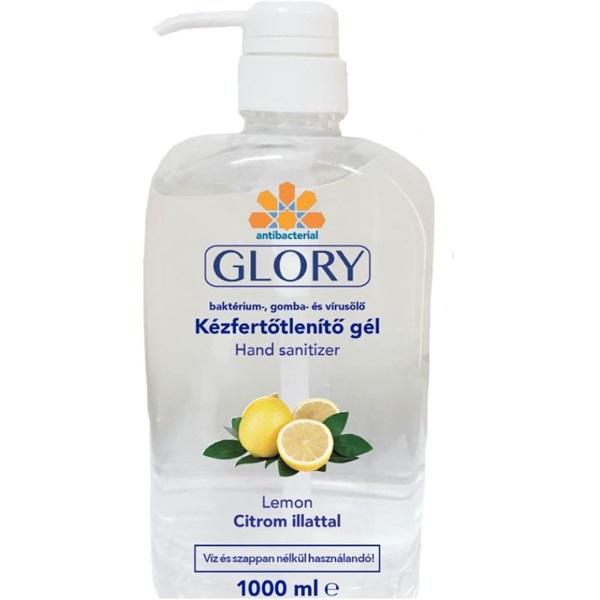 Glory/HC gél Citrom 1000 ml kézfertőtlenítő - 1