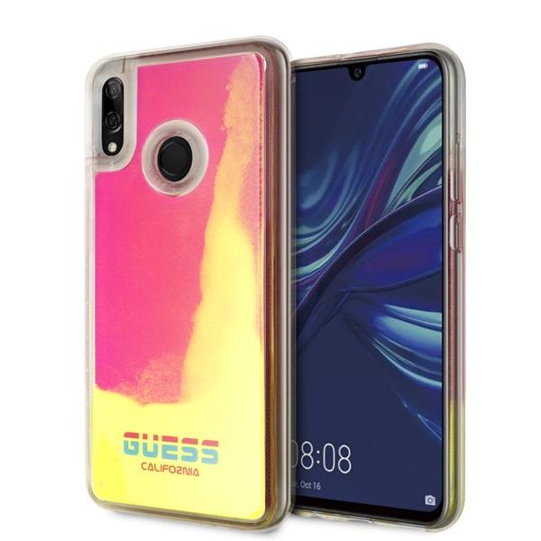 Guess California Huawei Psmart sötétben világító pink homok tok - 1
