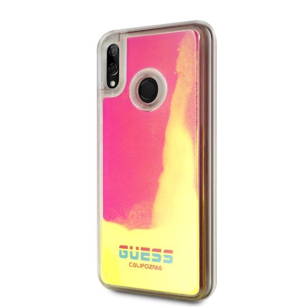 Guess California Huawei Psmart sötétben világító pink homok tok - 2