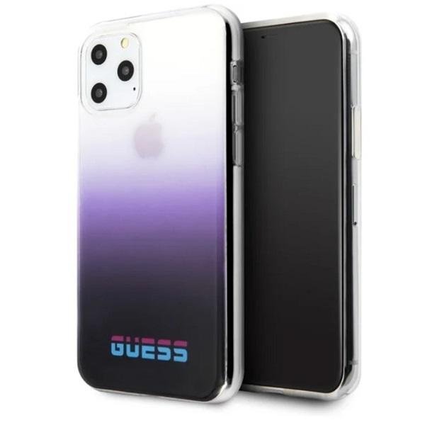 GUESS California iPhone 11 Pro Max lila PC/TPU tok - 5