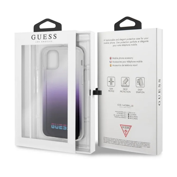GUESS California iPhone 11 Pro Max lila PC/TPU tok - 6