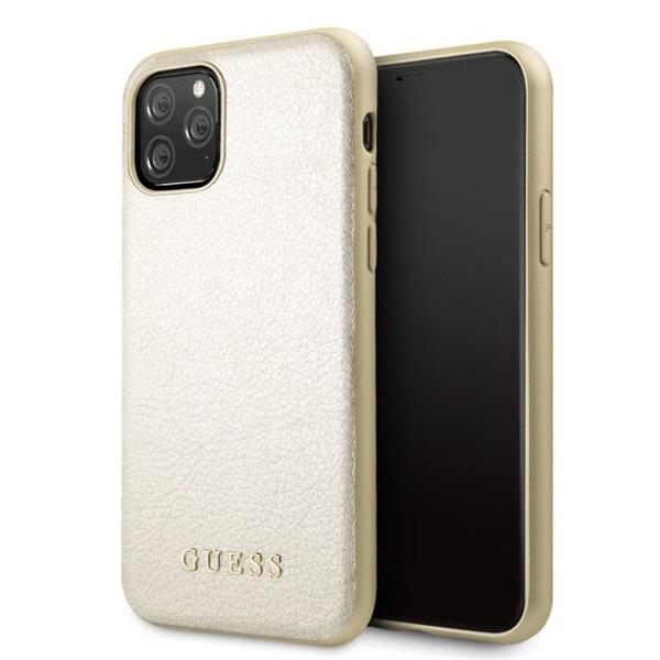 GUESS iPhone 11 Pro arany színváltó műbőr tok - 1