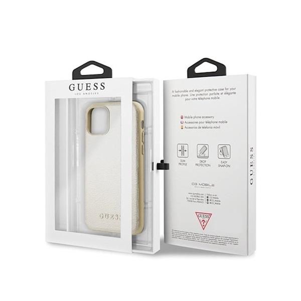 GUESS iPhone 11 Pro arany színváltó műbőr tok - 4