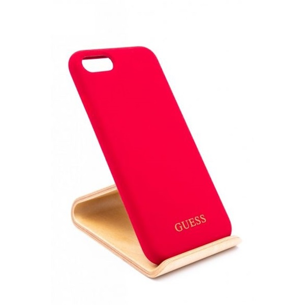 Guess iPhone 8 szilikon piros tok - 1