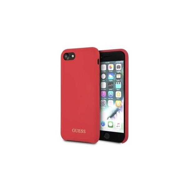 Guess iPhone 8 szilikon piros tok - 2