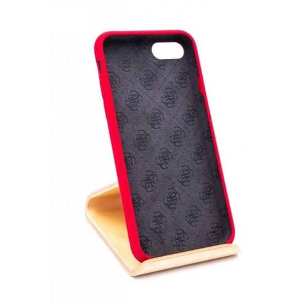 Guess iPhone 8 szilikon piros tok - 3
