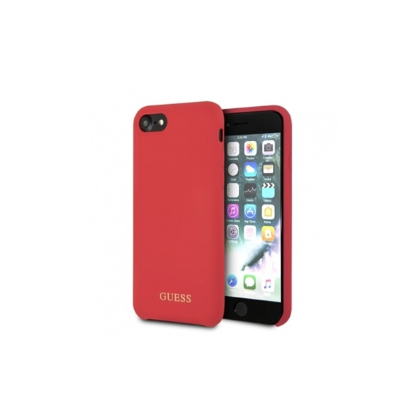 Guess iPhone 8 szilikon piros tok - 4