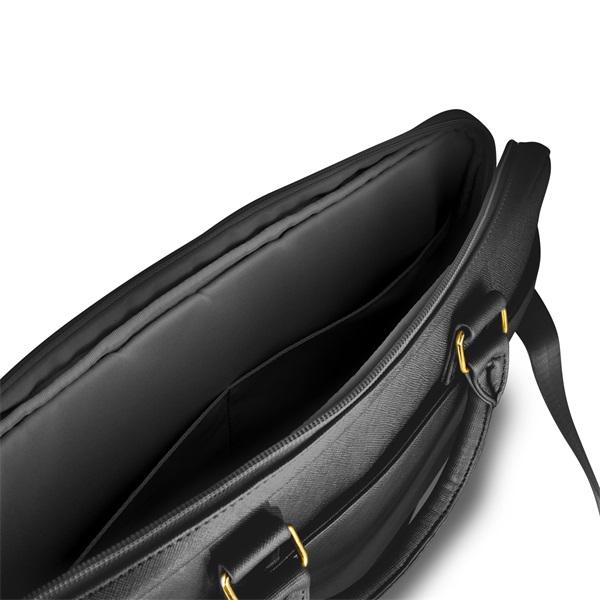 Guess Saffiano look 15 fekete notebook táska - 4