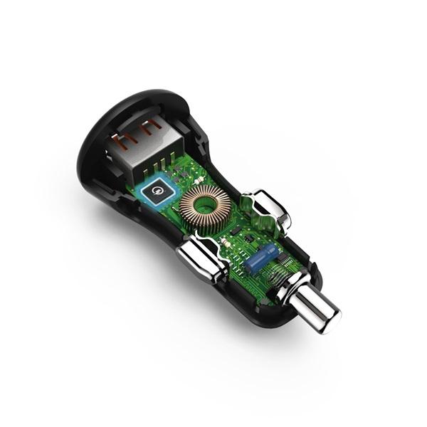 Hama 178239 Qualcomm QC 3.0 USB autós töltő - 3