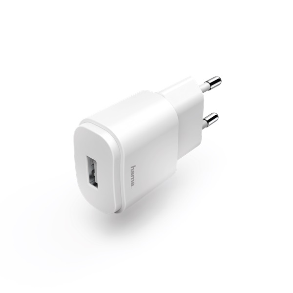 Hama 183262 USB 1,2A fehér hálózati töltő - 2