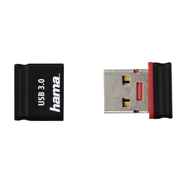 """Hama 64GB USB3.0 Smartly"""" fekete-piros (124011) FlashPen - 4"""