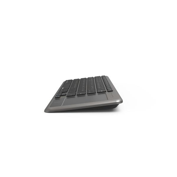 """Hama KW-600T"""" HUN USB vezeték nélküli fekete billentyűzet (touchpad) - 2"""