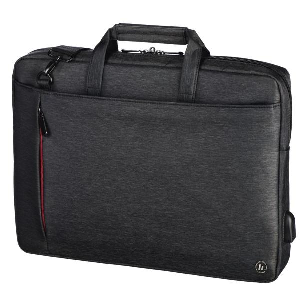 "Hama Manchaster"" 13,3"" fekete notebook táska - 1"