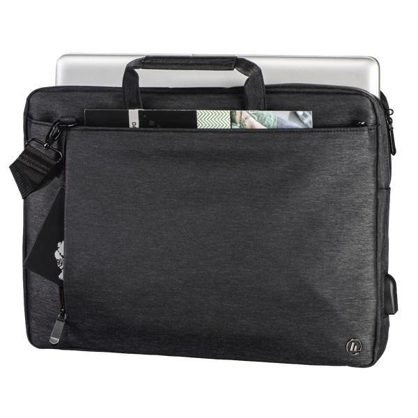 "Hama Manchaster"" 15,6"" fekete notebook táska - 2"