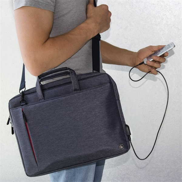 """Hama Manchaster"""" 15,6"""" kék notebook táska - 6"""