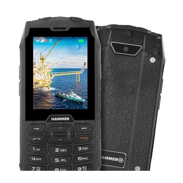 HAMMER 4 2,8 Dual SIM piros  csepp-, por- és ütésálló mobiltelefon - 2
